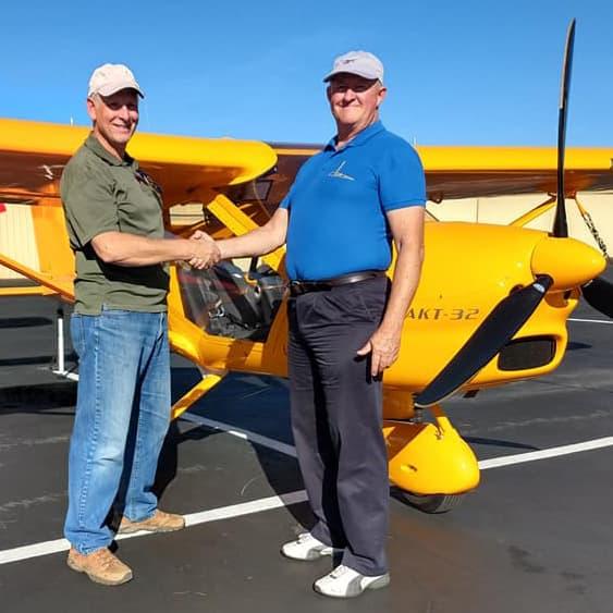 Handshake Leads to a Fun New Aero-Venture